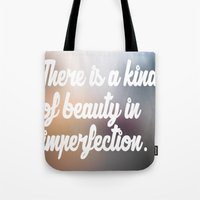 emily rickard Tote Bags featuring Emily by ∆∑M¬
