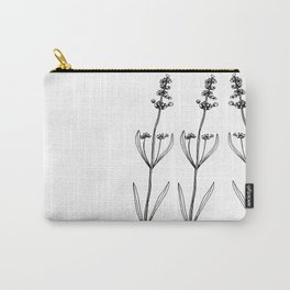 Lavender branches Carry-All Pouch