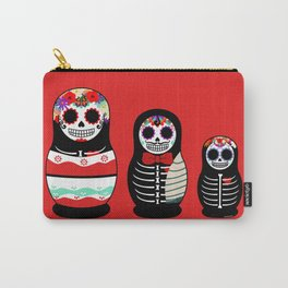 Halloween Russian dolls Carry-All Pouch