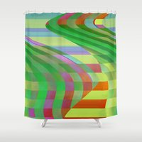 circus Shower Curtains featuring Circus by Alexander Studio