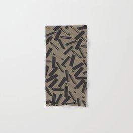 3D X Pattern Hand & Bath Towel