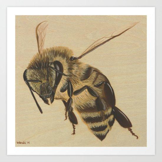 Bee II  Art Print