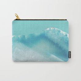 Geode Crystal Turquoise Blue Carry-All Pouch