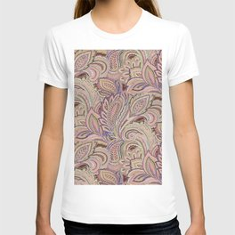 paisley fall T-shirt