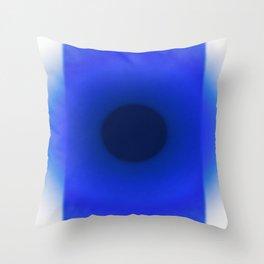 Blue Essence Throw Pillow
