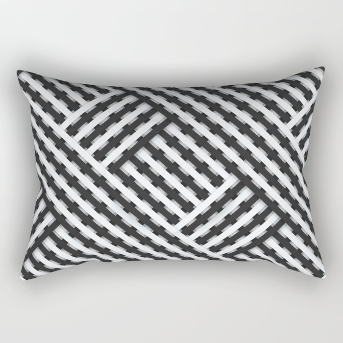 Ups & Downs Rectangular Pillow