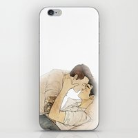 klaine iPhone & iPod Skins featuring Klaine tattoos by suitfer