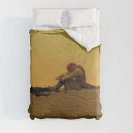 """Marooned"" Pirate Art by Howard Pyle Comforters"