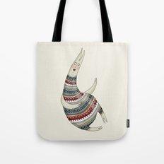 Pattern Monster Tote Bag