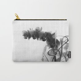Flowers in black Carry-All Pouch