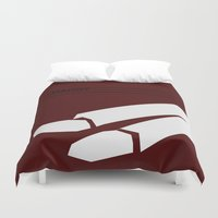harry Duvet Covers featuring Harry by Monstakind