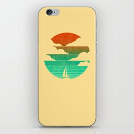Go West (sail away in my boat) iPhone Skin