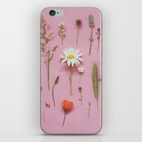 cassia beck iPhone & iPod Skins featuring Wild Flowers by Cassia Beck