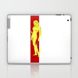 Flame Girl Laptop & iPad Skin