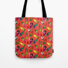 Red Hot Chili Pattern 01 Tote Bag