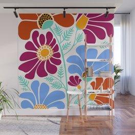 Wildflowers III Wall Mural