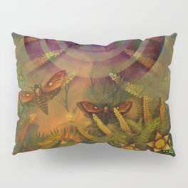 """""""A Psychedelic Forest"""" Pillow Sham"""
