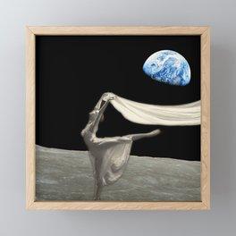 Dance like no one is watching Framed Mini Art Print