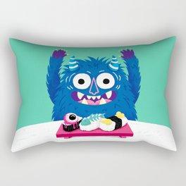 I Heart Sushi Rectangular Pillow