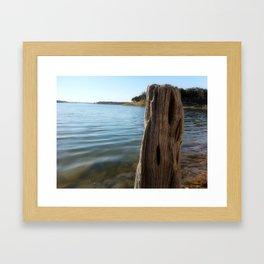 Water Logged Framed Art Print