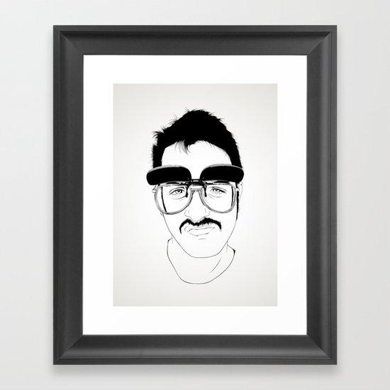 Bigotaco Framed Art Print