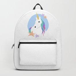 Unicorn portrait Backpack