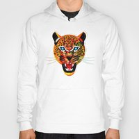 jaguar Hoodies featuring jaguar by Alvaro Tapia Hidalgo