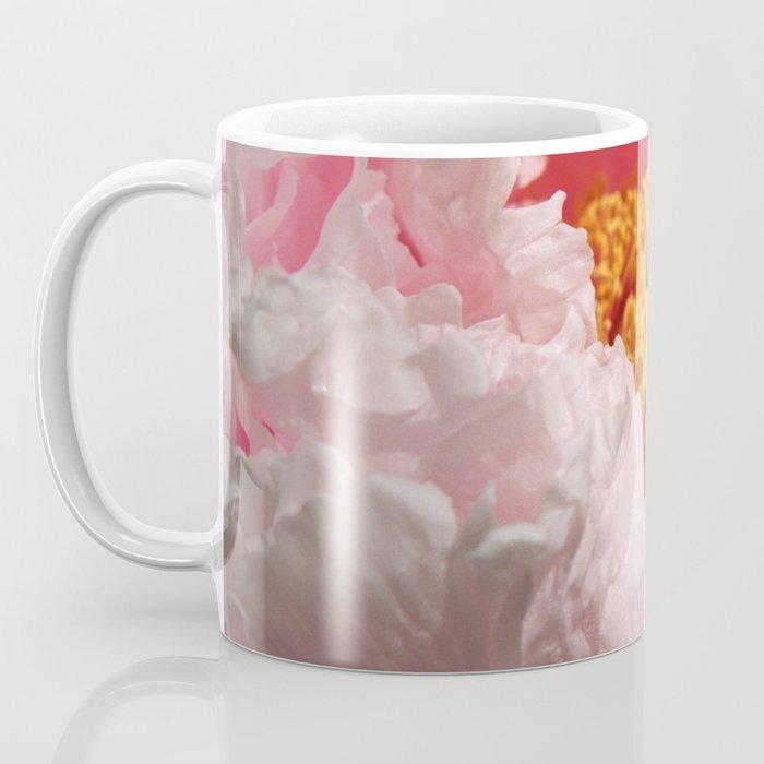 Peony Closeup- Pink Coffee Mug