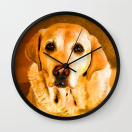 Oh PLEASE give me Cookies! Wall Clock