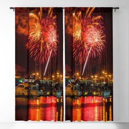 Marina Del Rey Fourth of July Fireworks 1 Blackout Curtain