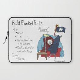Build Blanket Forts Laptop Sleeve