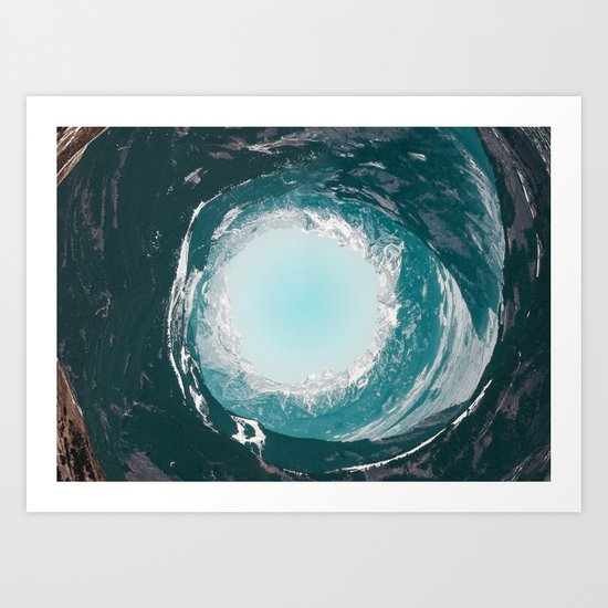 The End Art Print By Follow Me Away Society6