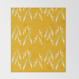 May there be Lily of the Valley Throw Blanket