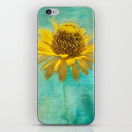Zingy Zinnia iPhone Skin