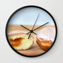 Jelly Donut Wall Clock