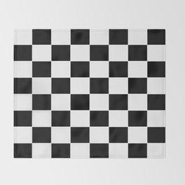 Checkerboard pattern Throw Blanket