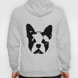 Boston Terrier Unisex Tri Blend Boston Terrier Gift With Boston Terrier Boyfriend Vintage boston Hoody
