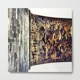 Brick back bridge Metal Print
