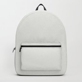 Off White - Cotton- Linen Solid Color Parable to Valspar Blanched Pine 7005-15 Backpack