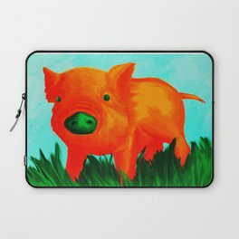 The Tangerine Pig Laptop Sleeve