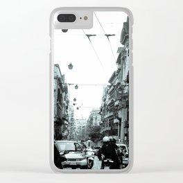 Naples, Spanish Quarter 1 Clear iPhone Case