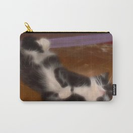Cute sleeping kitty Carry-All Pouch