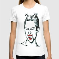 miley cyrus T-shirts featuring Miley Cyrus  by Clairenisbet