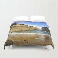 evolution Duvet Covers featuring Australia's Evolution by Chris' Landscape Images & Designs