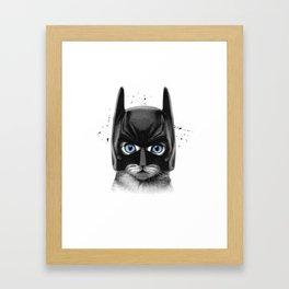 SuperCat! Framed Art Print