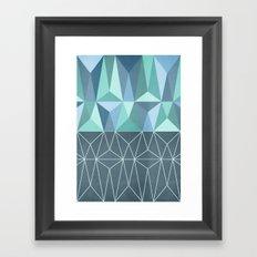 Nordic Combination 32 Framed Art Print