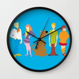 Scooby Do Gang Wall Clock