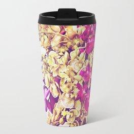 Yellow and pink Travel Mug
