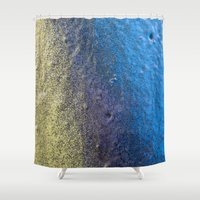 shameless Shower Curtains featuring Gala by Calle de Rosa
