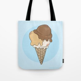 Cold Treats - Cone Tote Bag